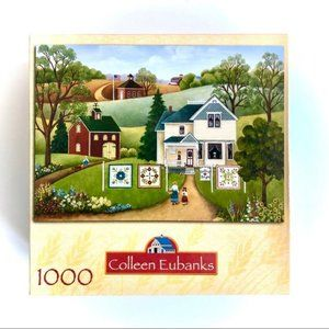 New factory sealed Colleen Eubanks 1000 art puzzle